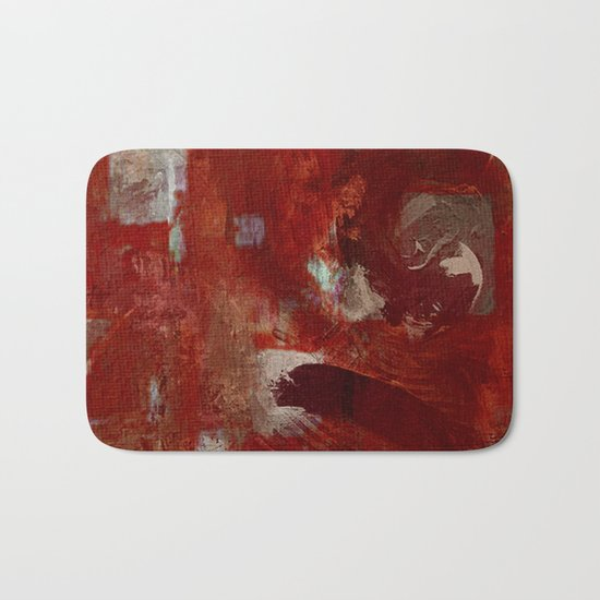 Burgundy Bath Mat