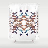 ethnic Shower Curtains featuring Ethnic by Rui Faria