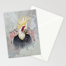 ROCK & ROLL BIRD!! Stationery Cards