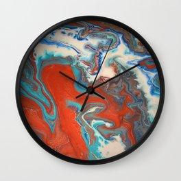 shifting water Wall Clock