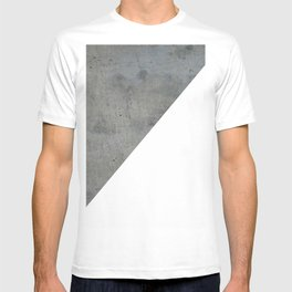 Concrete Vs White T-shirt