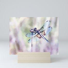 Dragonfly in Pastels Mini Art Print