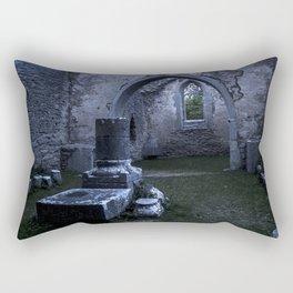 What lies in ruin Rectangular Pillow