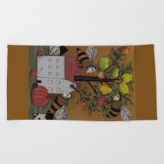 We need the BEE! Beach Towel