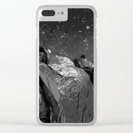 Fellini's Plastic Sea Clear iPhone Case