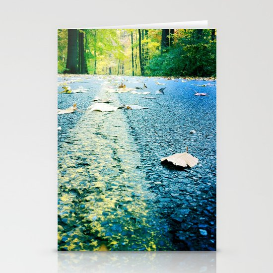 back roads Stationery Cards
