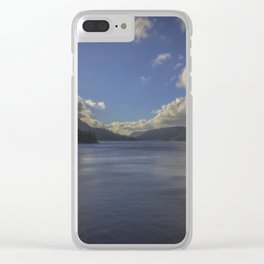 Calmness. Clear iPhone Case