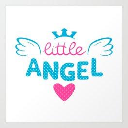 LITTLE--ANGEL Art Print