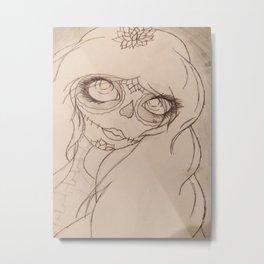 ghost Ani Metal Print