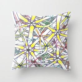 Higgs Boson Throw Pillow