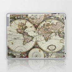 Vintage World Map Laptop & iPad Skin
