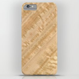 Eucalyptus Wood iPhone Case