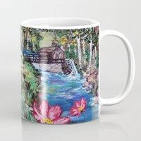 serenity Mugs featuring Serenity by Art of Leki