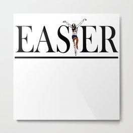 Christian and Gay Easter Metal Print