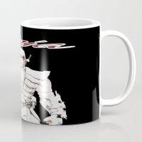ninja Mugs featuring Ninja by Afaalstore