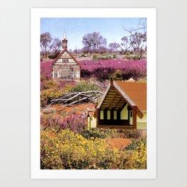Meeting House Art Print