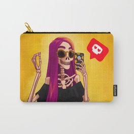 Catrina Moderna - Día de Muertos - Day of the Dead Carry-All Pouch