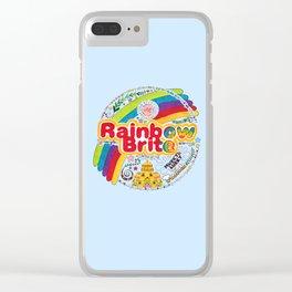 Rainbow Brite Clear iPhone Case