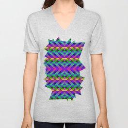 Rainbow Scaffolding Unisex V-Neck