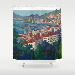 Vigo Shower Curtain