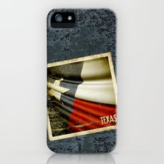 Grunge sticker of Texas (USA) flag Slim Case iPhone (5, 5s)