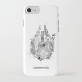 Star Wars Vehicle Millennium Falcon iPhone Case