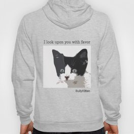 bully kitten i look upon you with favor Hoody