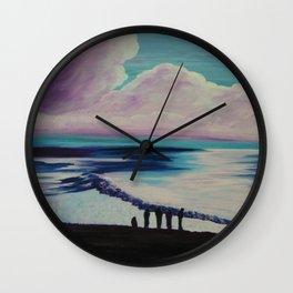 Immensité Wall Clock