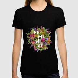 Floral Feminism T-shirt