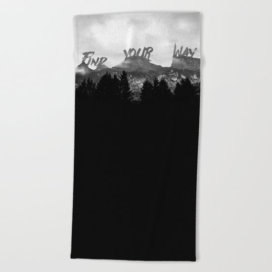 Wisdom of Nature Beach Towel