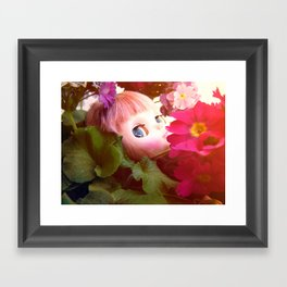 Bed flower Framed Art Print
