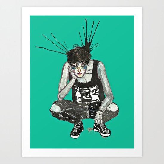 Taemin x NYLON  Art Print