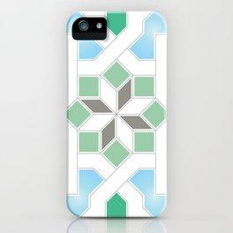 Geometric Pattern - Oriental Design Pt. 6 iPhone Case