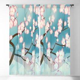 Cherry Blossom Reverie Blackout Curtain