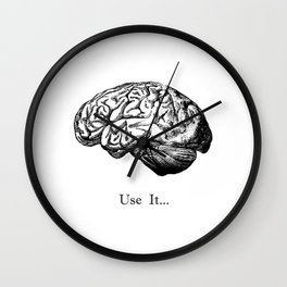 Brain Anatomy - Use It Wall Clock