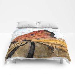 Red Rocks 2016 Comforters