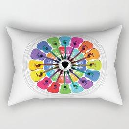 Pick A Color Rectangular Pillow