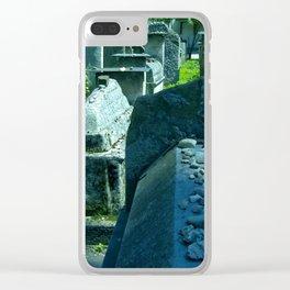 Krakow jew cemetery Clear iPhone Case