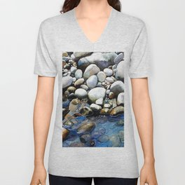 Issaquah Creek Unisex V-Neck