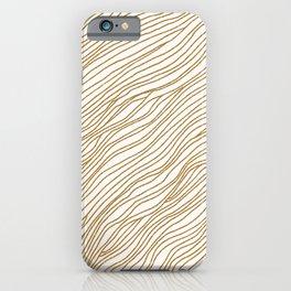 Metallic Wood Grain iPhone Case