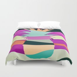 Sliced Abstract Ananas Duvet Cover