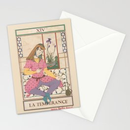 Tarot Card-The Temperance Stationery Cards