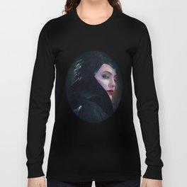 Maleficent in Oil / Sleeping Beauty Long Sleeve T-shirt