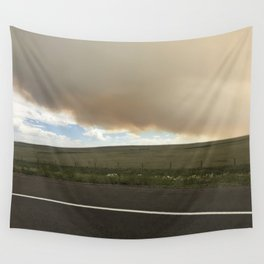I-25 Storm Wall Tapestry