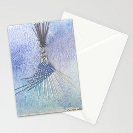 Il matrimonio laico dell uomo in grigio e della fata turchina  Stationery Cards