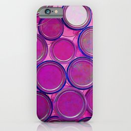 Purple Haze by Lika Ramati iPhone Case