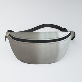 Industrial Brushed Stainless Fanny Pack
