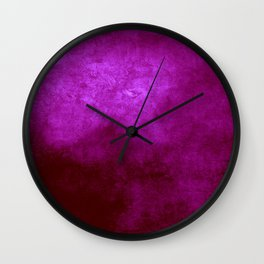 Abstract Cave IX Wall Clock