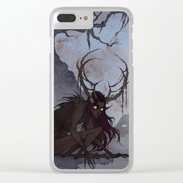 Swamp Demon Clear iPhone Case