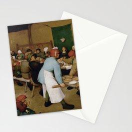 Peasant Wedding by Pieter Bruegel the Elder Stationery Cards